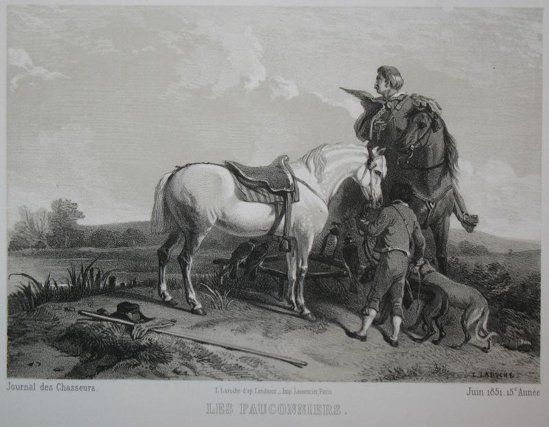 Lithograph by L.Laroche