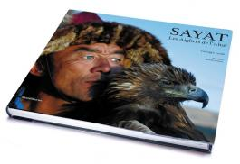 Book by Georges Lenzi on Eagle Hunters in Altai