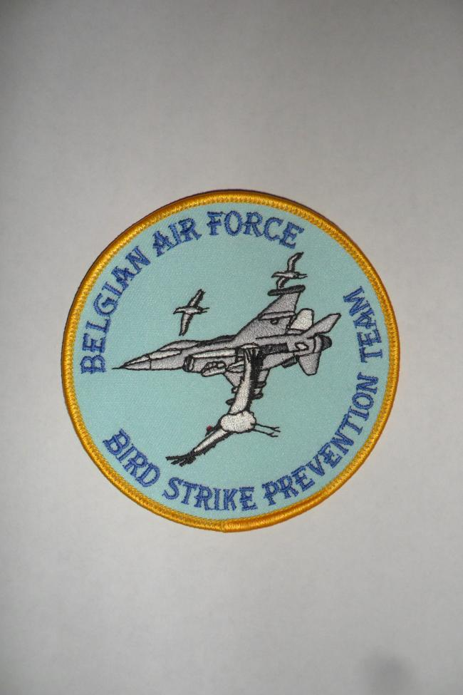 Belgian Air Force - Bird Strike Prevention Team - large size