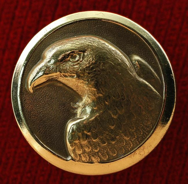 Falconry Button from collection of Veronique Blontrock 031