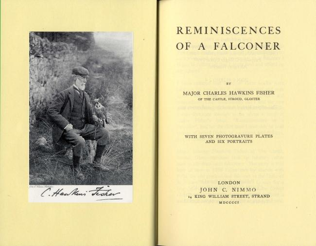 Reminiscences of a Falconer by Major C.H.Fisher