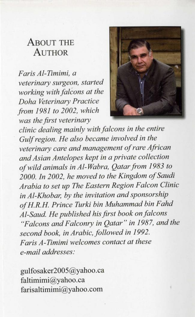 Falconry and Hunting in Arabia by Faris Al-Timimi IC