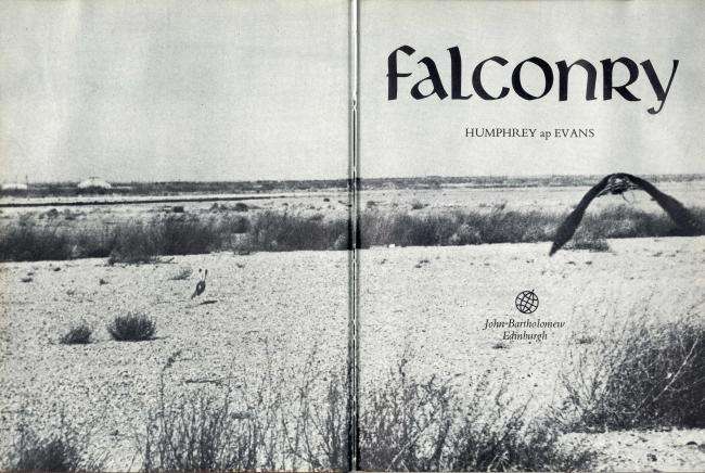 Falconry An Illustrated Introduction by Humphrey ap Evans