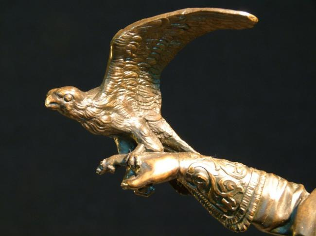EVGENY LANCERAY RUSSIAN BRONZE FALCONER 4