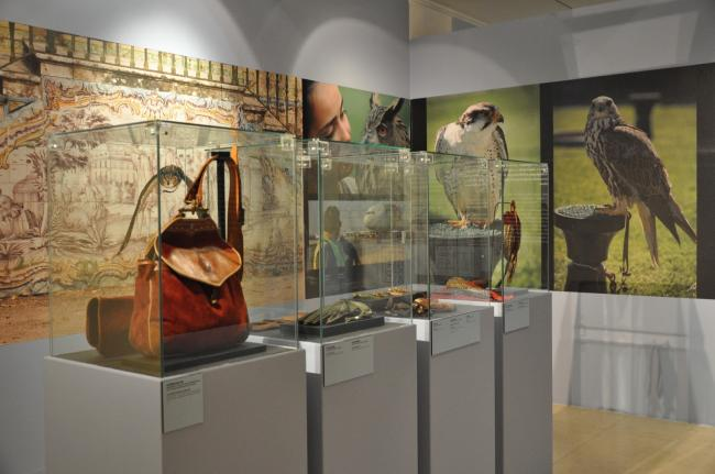 The Art of falconry from East to West - temporary exhibition at Museu do Oriente 2