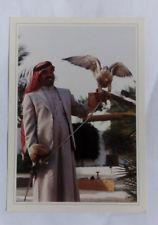 Postcard with falconer in Kingdom of Saudi Arabia (after 1945)